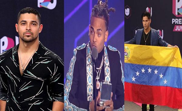 Artistas se pronunciaron en apoyo a Venezuela durante los Premios Juventud | Composición