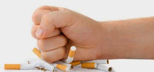 Dejar de fumar  Foto referencial