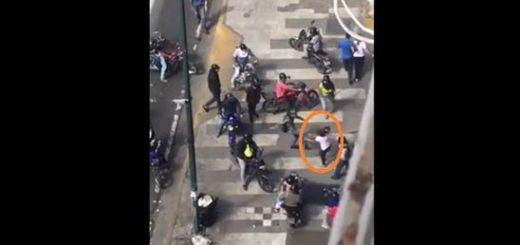 Colectivos agredieron a una mujer en La Paz |Foto: La Patilla