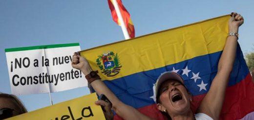 "Venezolanos dicen ""no"" a la Constituyente |Foto agencia"