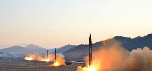 Corea del Norte lanza misiles hacia el mar de Japón  Foto: Reuters