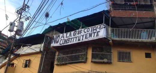Habitantes de la Cota 905 no quieren la Constituyente |Foto: Twitter