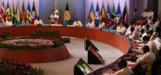Presidente del Caricom pide en la Cumbre una postura común sobre Venezuela | Foto: Twitter