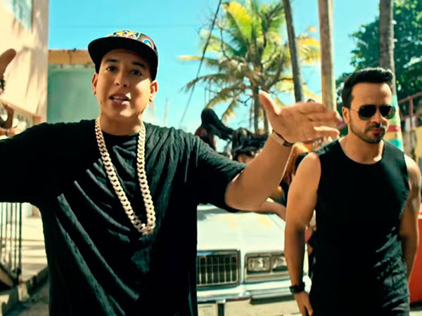 "Daddy Yankee y Luis Fonsi en el exitoso video de ""despacito"" 