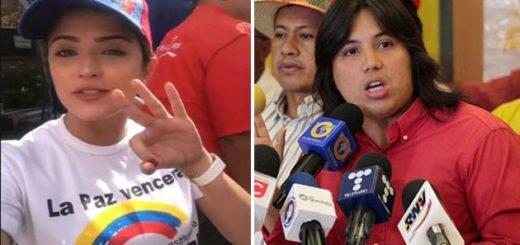 En campaña! Así es como Daniella Cabello le hace propaganda a Fidel Madroñero | Fotos: Composición Notitotal