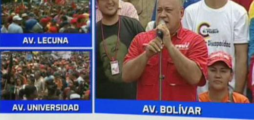 Diosdado Cabello   Foto: @VTVCanal8