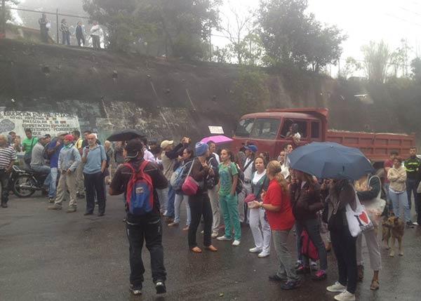 Protesta en El Junquito |Foto: Twitter