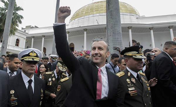 Tareck El Aissami, vicepresidente de la República |Foto cortesía