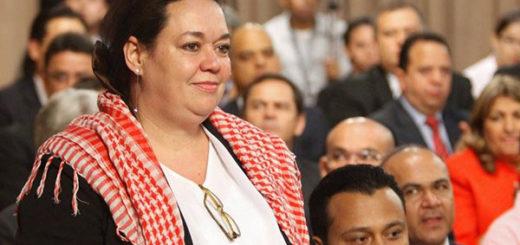 Isabel Delgado, exministra para el Comercio y embajadora de Venezuela ante el Mercosur   Foto: Agencias