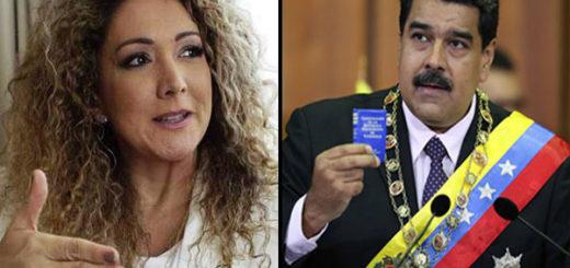 Eirka Ender, coautora de 'Despacito', rechaza la versión lanzada por Maduro para promover la ANC | Composición: NotiTotal