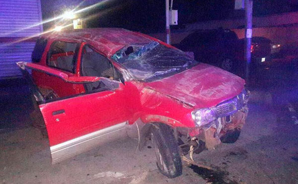 Murió joven estudiante de LUZ al volcar su camioneta en una barricada | Foto: La Iguana