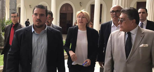 Luisa Ortega Díaz en la Asamblea Nacional | Foto: @JulioBorges