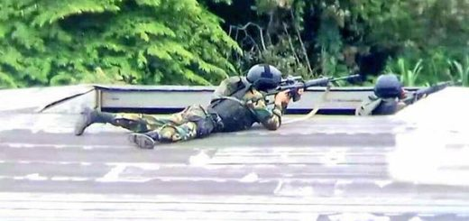 Francotiradores disparan contra habitantes en Táchira |Foto: Twitter
