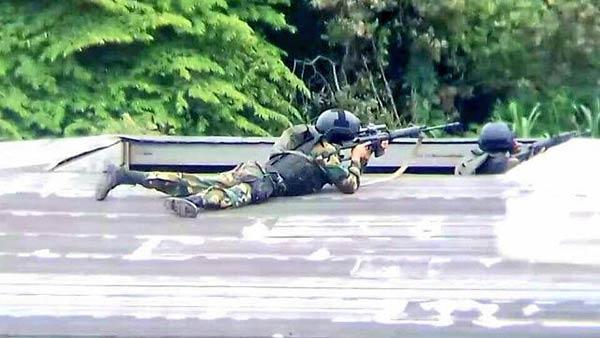 Francotiradores disparan contra habitantes en Táchira  Foto: Twitter