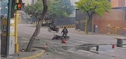 GNB roba moto donde se trasladaba el violinista |Foto: La Patilla