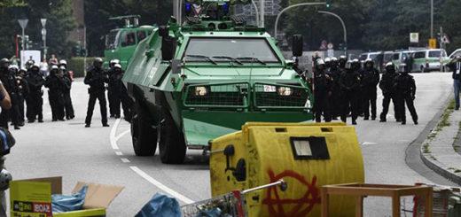 Comienza en Hamburgo la cumbre del G20 con nuevos disturbios | Foto: EFE