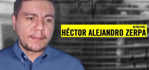 Preso político, Héctor Alejandro Zerpa, se cosió los labios e inició huelga de hambre
