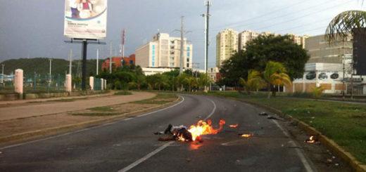 Héctor Anuel, presunto colectivo quemado durante una manifestación en Lechería | Foto: @Diario_ElTiempo