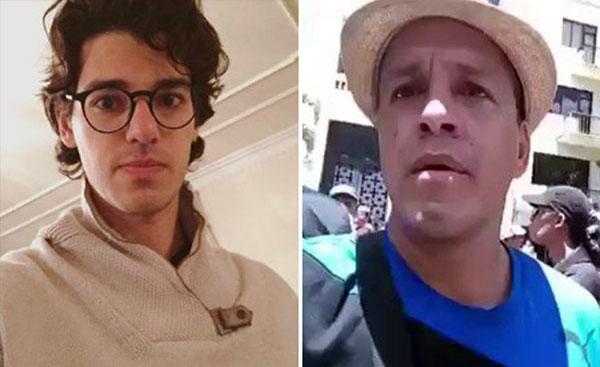 "Ricardo Ramos, hijo del diputado Henry Ramos Allup / Conductor de Zurda Konducta, Oswaldo Rivero, mejor conocido como ""Cabeza e' mango"" | Composición"