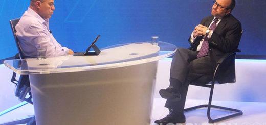 John Magdaleno en entrevista con Vladimir Villegas | Foto: Globovisión