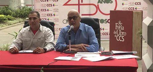 Jorge Rodríguez, alcalde del municipio Libertador | Foto: Vía Twitter
