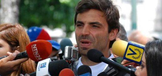 Diputado de la Unidad, Juan Andrés Mejías  Foto: Nota de prensa