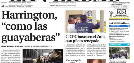 Portadas de los diarios nacionales de este #7Jul | Foto: kioko.net