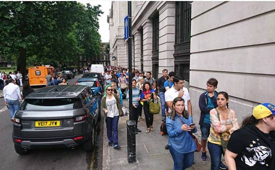 Venezolanos en Londres participan en Consulta Popular | Foto: captura de video