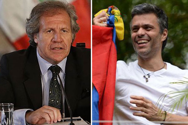 Luis Almagro mantuvo conversación telefónica con Leopoldo López | Composición