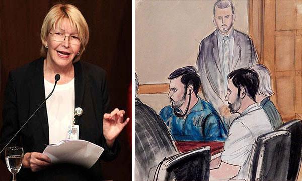 Lo que dijo Luisa Ortega Díaz sobre el caso de los narcosobrinos | Composición