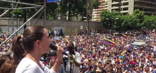 María Corina Machado, Coordinadora nacional de Vente Venezuela | Foto: Captura de video