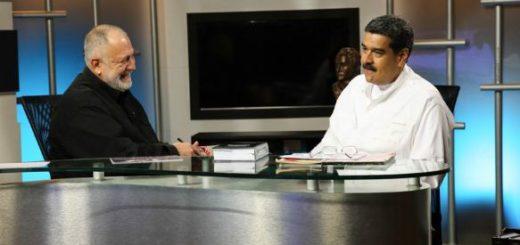 Nicolás Maduro en el programa La Hojilla | Foto: @PresidencialVen