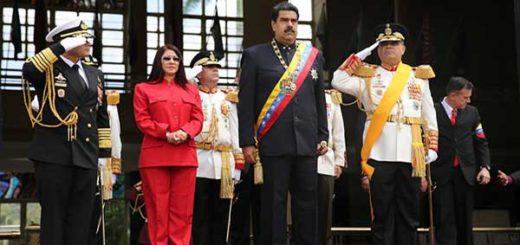 Presidente Nicolás Maduro durante actos del 5 de Julio | Foto: @Dpresidencia