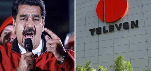 "Maduro ordenó a Conatel investigar a Televen ""por apología del delito""   Composición"
