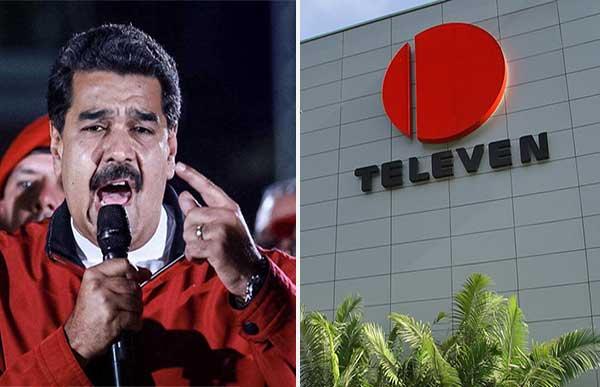 "Maduro ordenó a Conatel investigar a Televen ""por apología del delito"" | Composición"