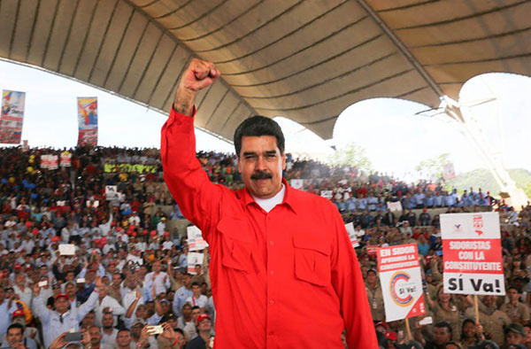 Maduro arranca gira por todo el país por su Constituyente | Foto: @PresidencialVen