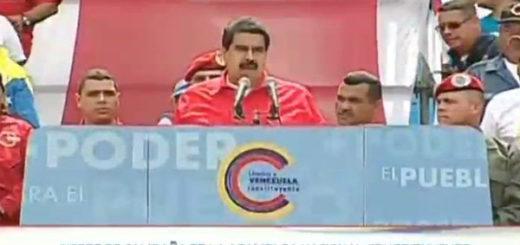 Maduro encabeza cierre de campaña Constituyente | Captura de video