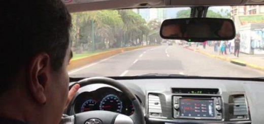 Presidente Nicolás Maduro durante recorrido   Foto: Captura de video