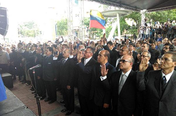 Magistrados del TSJ designados por la AN |  Foto: @LuisFlorido