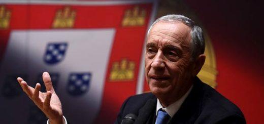 Presidente luso, Marcelo Rebelo de Sousa |Foto agencia