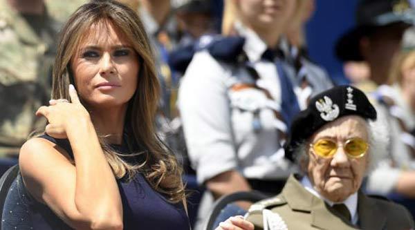Melania Trump, primera dama de EEUU   Foto: Cortesía