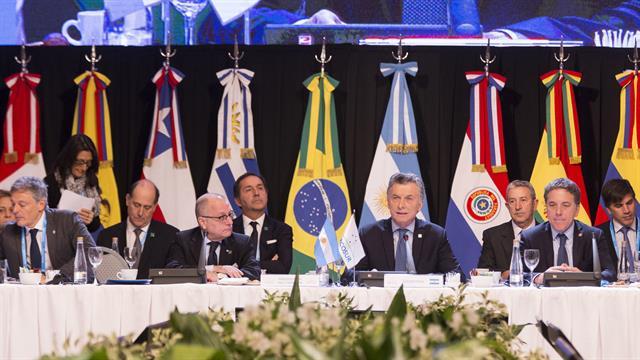 Países miembros del Mercosur  Foto: La Nación