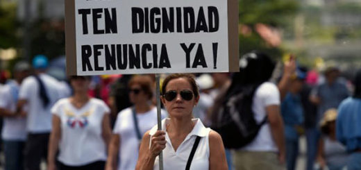 Venezolanos luchan contra la Constituyente | Foto: Twitter