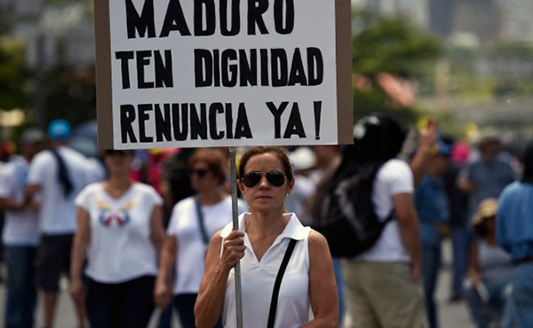 "Convocan ""pancartazo"" para este lunes contra la Constituyente | Foto: Twitter"