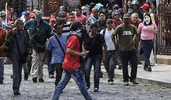 Asalto a la Asamblea Nacional (AN) 05/07 | Foto: AFP
