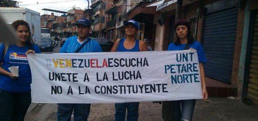 Petare dice No a la Constituyente | Foto: @ReporteYa