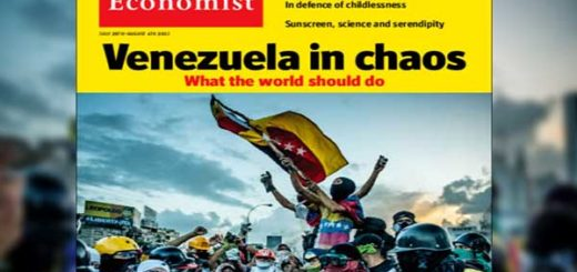 Portada de la edición del 29 de julio de la revista The Economist | Foto cortesía