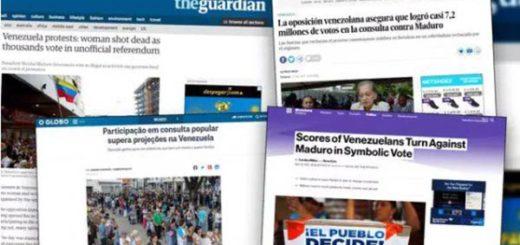 Medios internacionales reseñaron el triunfo del Plebiscito |Foto: Infobae