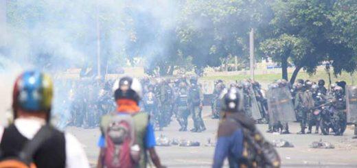 Represión en protesta del #22Jul |Foto: La Patilla