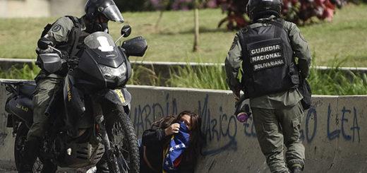 La represión en Venezuela | Foto: Agencias